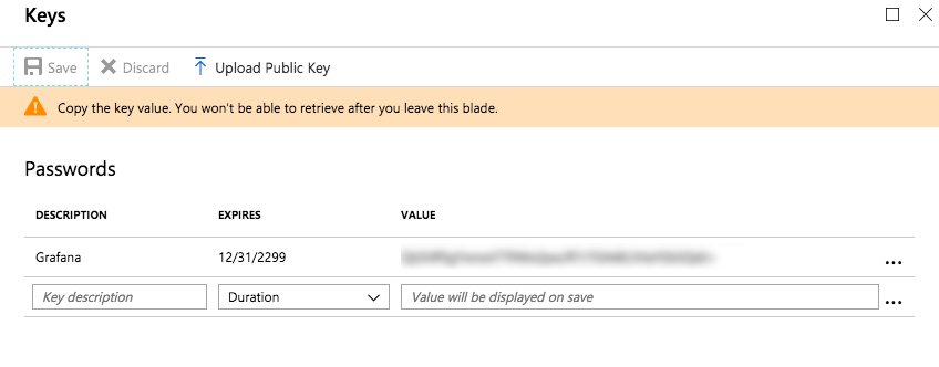 Application Key