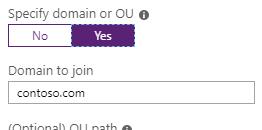 Contoso.com Default Domain