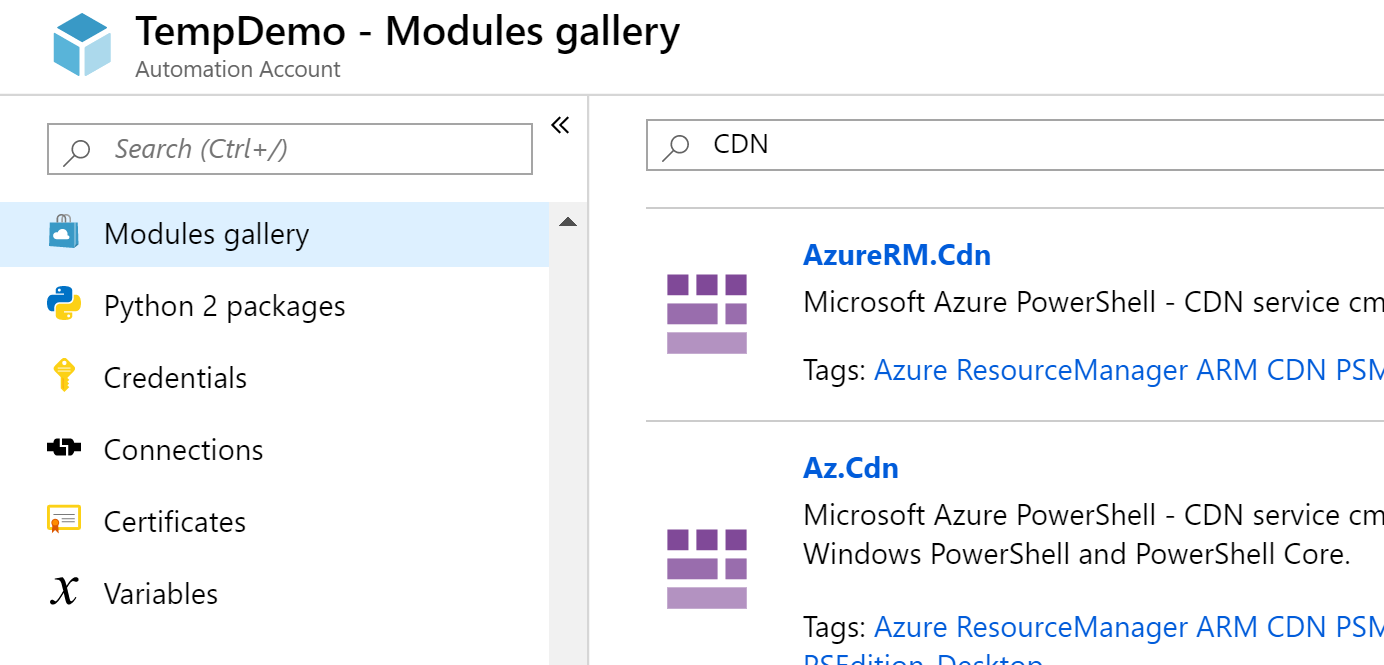 Purge Azure CDN with Event Grid and Azure Automation - ciraltos