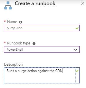 Create Runbook
