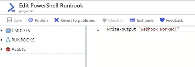 PowerShell Runbook